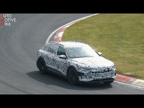 2019 AUDI E-TRON SPIED TESTING AT THE NÜRBURGRING