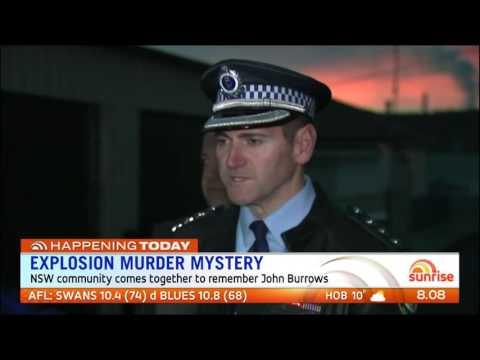 Police Re-investigate Fatal Bombing - Portland, NSW (2016)