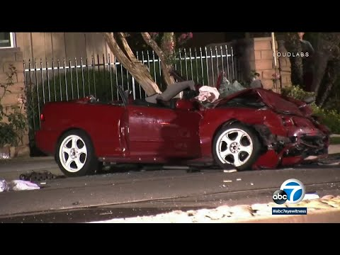 2 killed, 3 critical after La Verne police chase leads to crash   ABC7