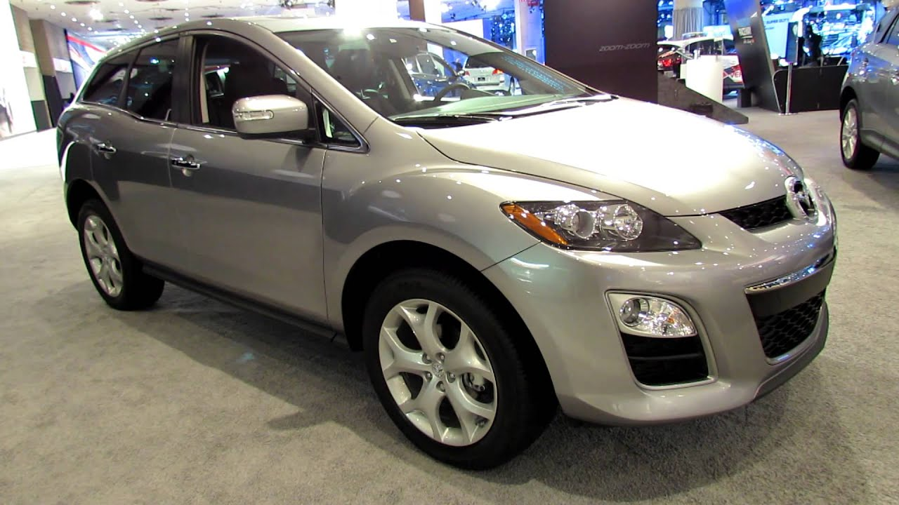 2012 mazda cx 7 s grand touring awd exterior and interior at 2012 new york auto show youtube. Black Bedroom Furniture Sets. Home Design Ideas
