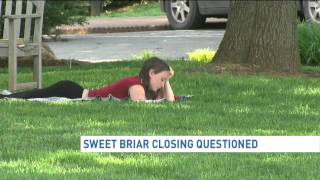 Sweet Briar College closing follow-up