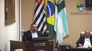 16ª Sessão Ordinária - Vereador Walmir Chaveiro