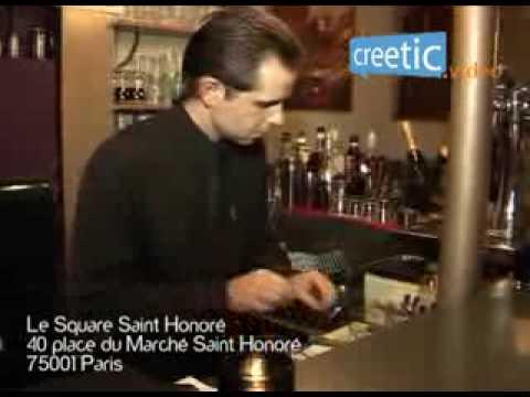 Le Square Saint Honoré - Restaurant Paris 01 - Creetic.fr