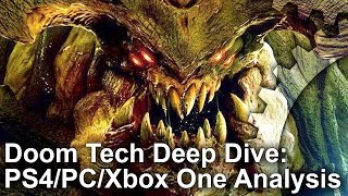 Doom Tech Analysis: The Best-Looking 60fps Console Shooter?