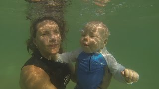 O primeiro mergulho