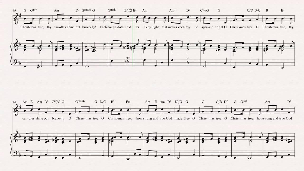 Clarinet - O Christmas Tree - Christmas Carol - Sheet Music, Chords ...