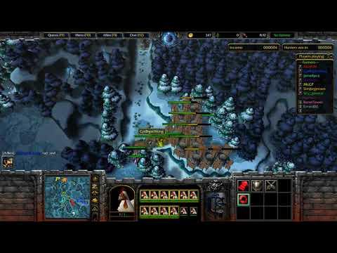 WarCraft 3 Farmer Vs Hunter #379 Farmer