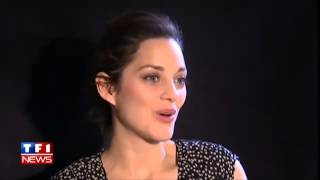 Marion cotillard talks about matthias schoenaerts and 'rust and bone' (with english subtitles)