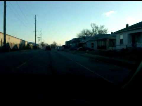 driving around east alton illinois