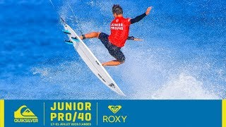 Epic Waves and Big Upsets: Junior Pro 40 Highlights