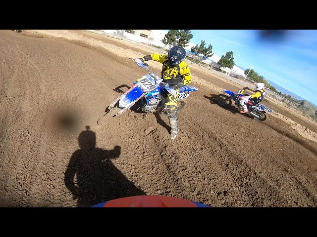 Hunter Yoder's Fighting First Laps at TWMXRS | GoPro Onboard