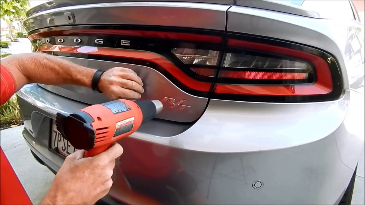 2016 Dodge Charger Debadge Expert Car Debadging By Auto