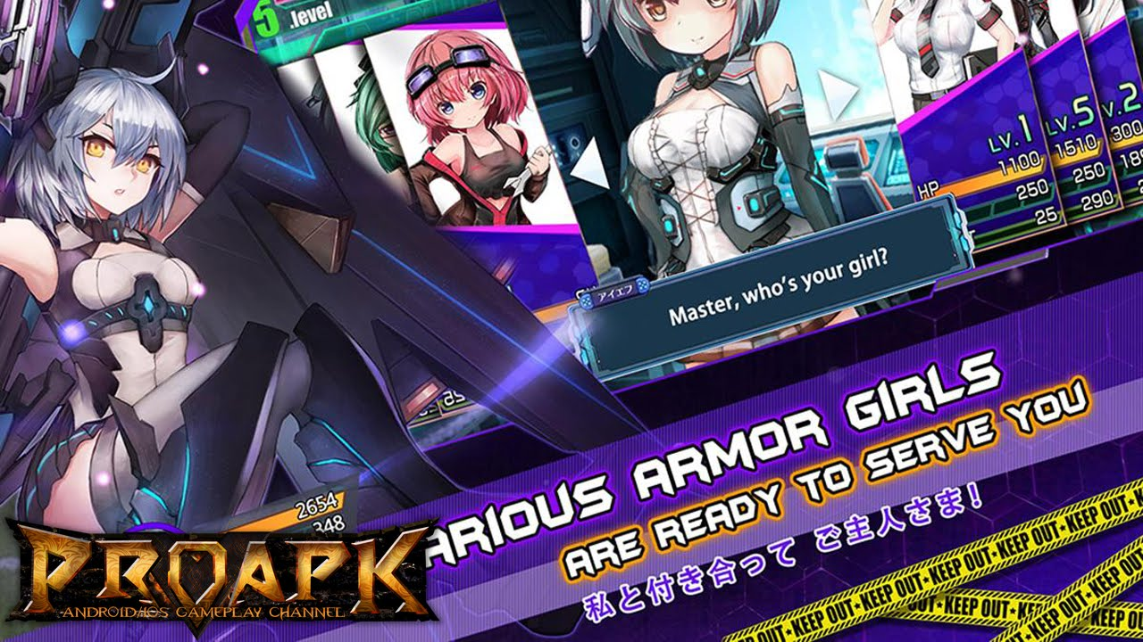 Armor Girls Z Battle Gameplay Ios Android Youtube