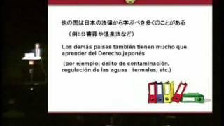 """Francisco Barberán """"Acerca del papel del Derecho"""" @Instituto Cervantes de Tokio"""