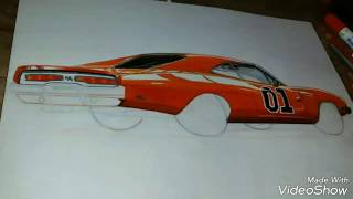 "General Lee ""speed drawing"""