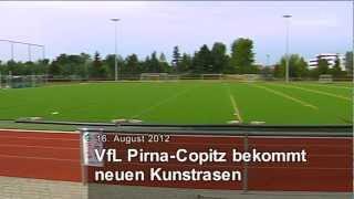 Neuer Kunstrasen für den VfL Pirna-Copitz