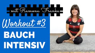 Workout #3 - Bauch Intensiv | Ramona Franke