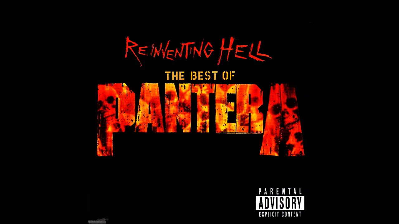 pantera cowboys from hell hq hd youtube