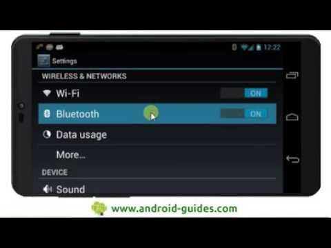 Connect your Android smartphone to your Android tablet
