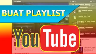 Cara Membuat Daftar Putar Playlist di Youtube