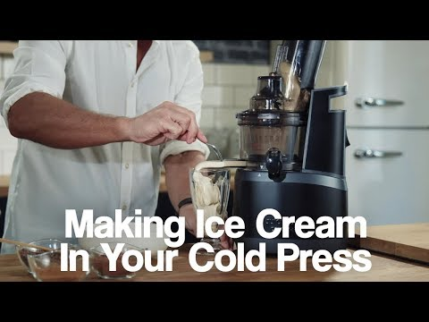How To Make Ice Cream in your Juice Master Cold Press Juicer!