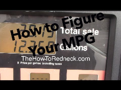 how to figure gas mileage