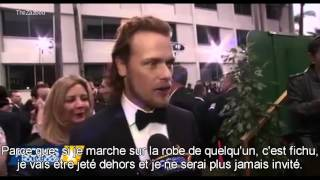 [VOSTFR] Outlander Saison 2 Interviews (Golden Globes 2016)
