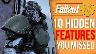 10 More Features Fallout 76 Never Tells you About (Fallout 76 Tips)