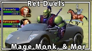 Legion Ret Dueling Hansol wanabes, Lambo Monks, & more