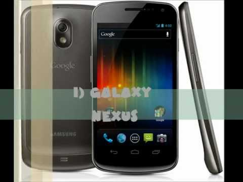Top 10 Best Android/ IPhone/ Smartphones Of 2011 2012
