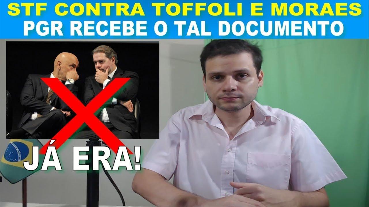 STF X STF (Toffoli e Moraes) / PGR recebe documento da Lava Jato e derruba medida de censura