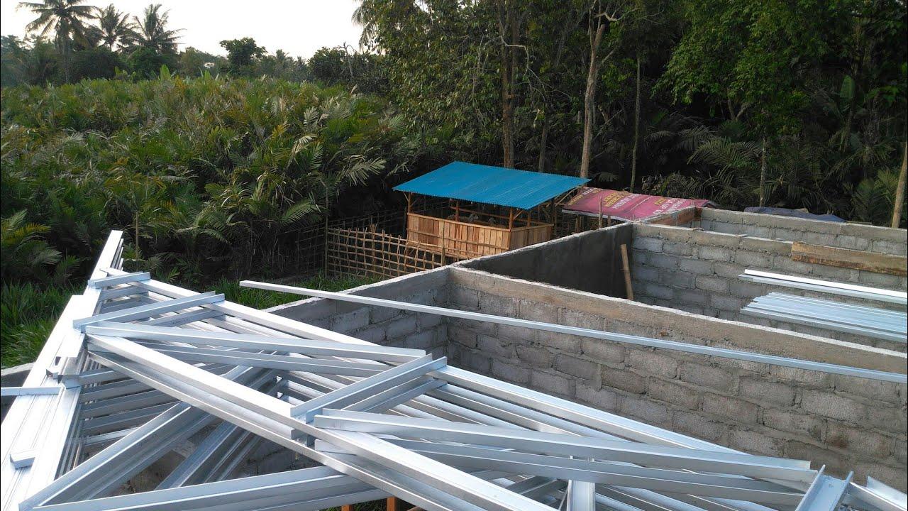 rumus kuda jurai baja ringan cara membuat trapesium untuk atap limas bentangan 7 m1 youtube