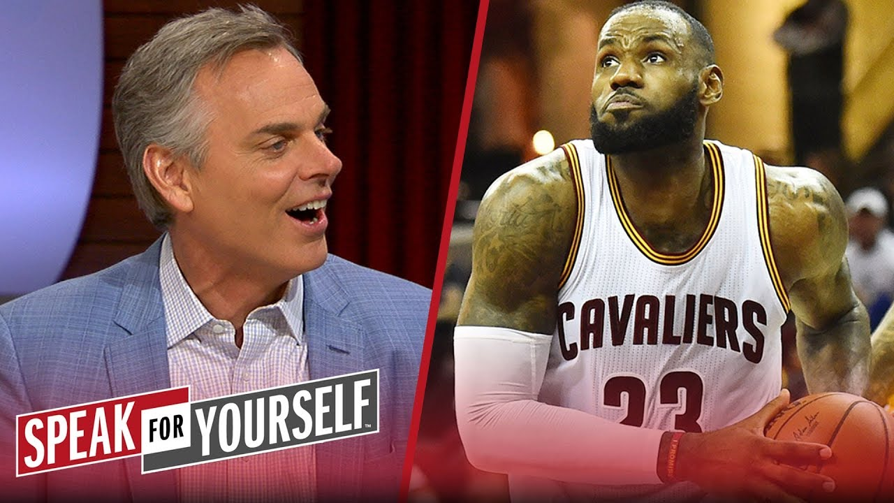 Colin and Whitlock disagree about whether Lakers fans will embrace LeBron | NBA | SPEAK FOR YOURSELF