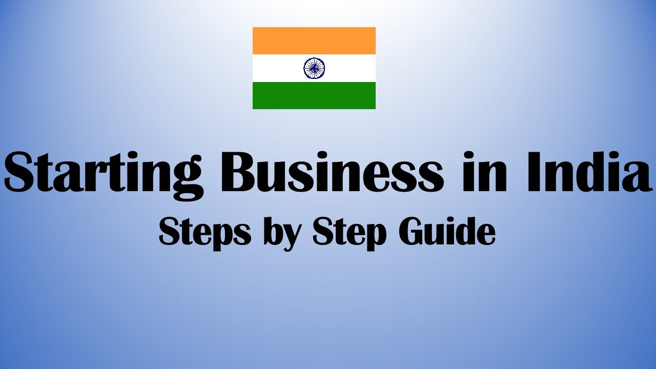 Start Small Scale Business in India Step by Step Guide - 2020 ...