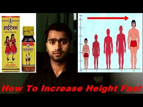 how to increase height fast    homoeopathic medicine      - YouTube