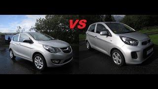 Review & Test Drive: 2015 Opel Karl vs Kia Picanto