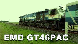 EMD GT46PAC (WDP4) powering Dekargaon (Tezpur) - Bhalukpong (Arunachal Pradesh) Passenger Train thumbnail