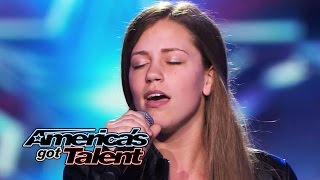 "Julia Goodwin: 15-Year-Old Singer Works With Dad for ""Feeling Good"" Cover - America"