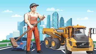 BRUDER Toys Construction - Bruder Dump Truck - New Bruder Toys 2019
