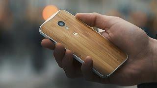 Обзор деревянной Moto X (Бамбук)