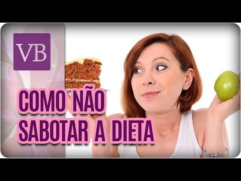 Dicas de Como Não Sabotar a Dieta - Você Bonita (12/10/17)