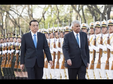 Ranil in China : China, Sri Lanka keen to push Colombo port project by Sandun Arosha Fernando