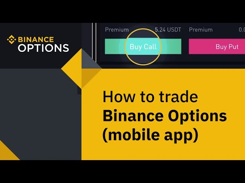 #Binance Guides: How To Trade Binance Options (Mobile App)
