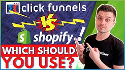 CLICKFUNNELS VS SHOPIFY FOR ECOMMERCE: WHICH ONE WILL BRING MORE DROPSHIPPING CONVERSIONS & SALES?