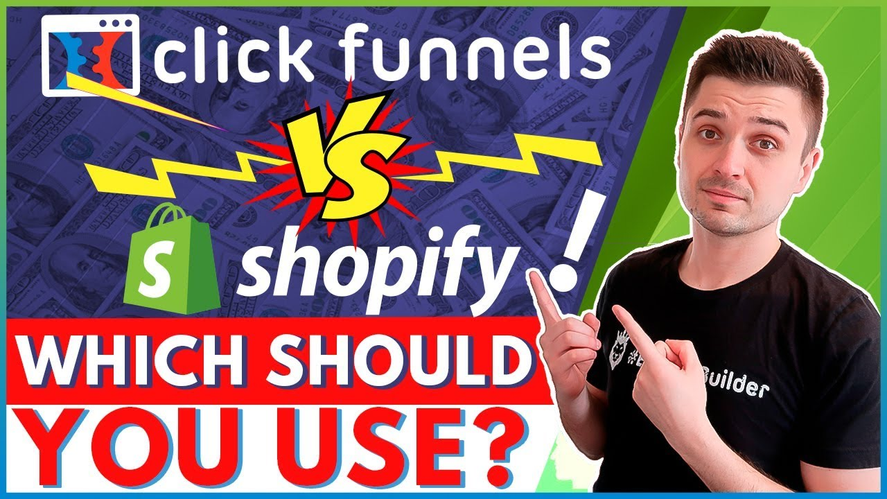 CLICKFUNNELS VS SHOPIFY FOR ECOMMERCE: WHICH ONE WILL BRING MORE DROPSHIPPING CONVERSIONS & SALE