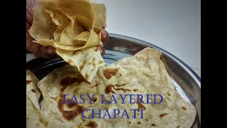 Layered Chapati in Tamil   Soft Chapati   Tamil Veedu