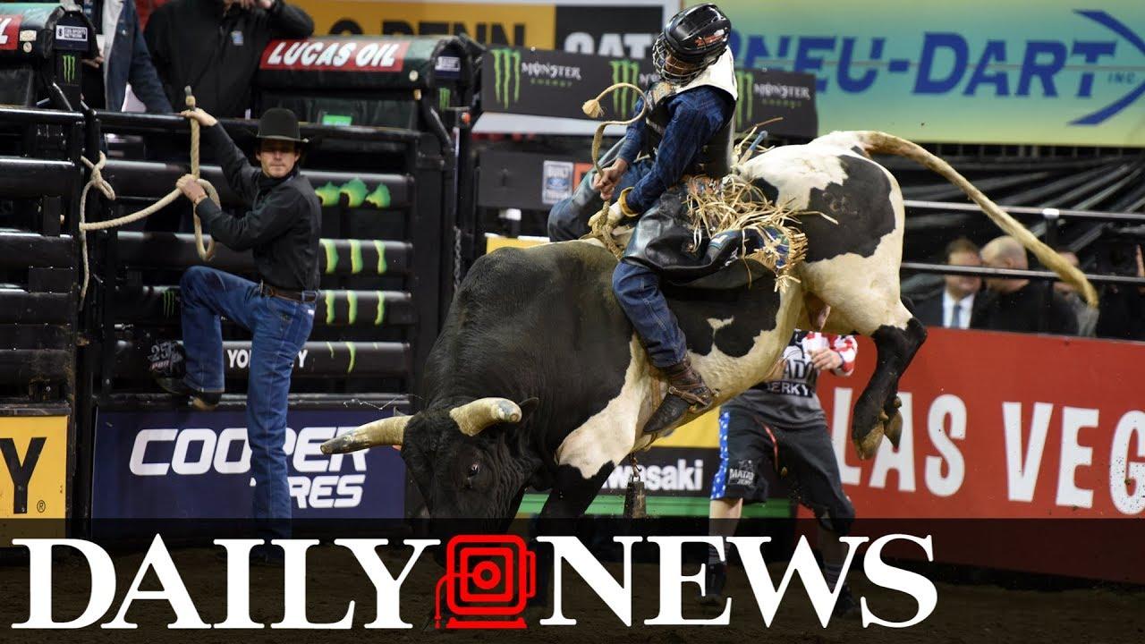 Bull Riders Of Pbr Take Madison Square Garden At Professional Bull Riders Monster Energy Buck