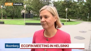 Swedish Finance Minister Calls High Debt Levels a `Huge Problem'