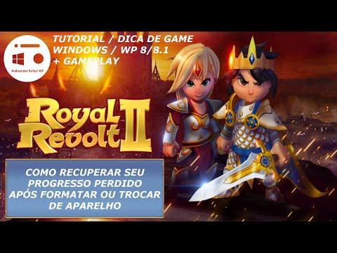 Royal Revolt 2 - Como Recuperar Progresso Perdido Após Formatar/trocar De Aparelho [Tutorial/DdG]