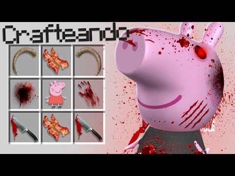 ¿¡COMO INVOCAR A PEPPA PIG .EXE EN MINECRAFT!? | MINECRAFT TROLL thumbnail